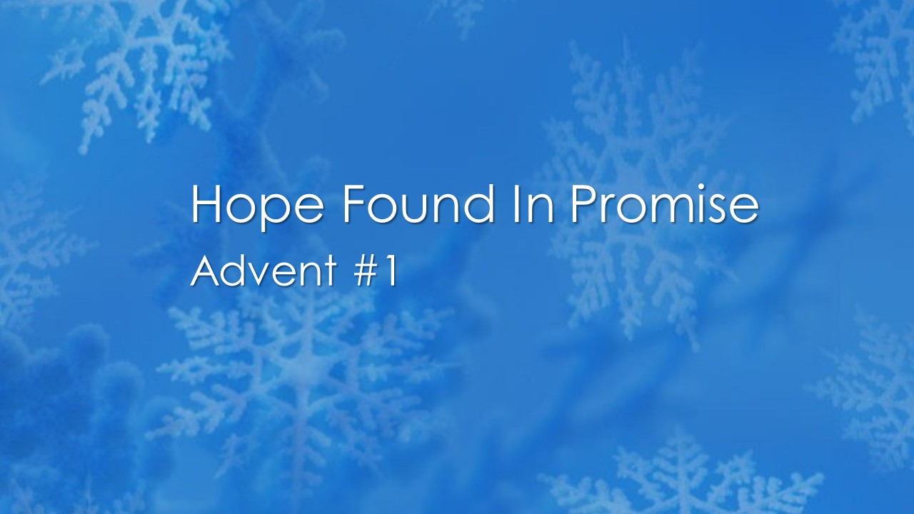 Hope Found in Promise