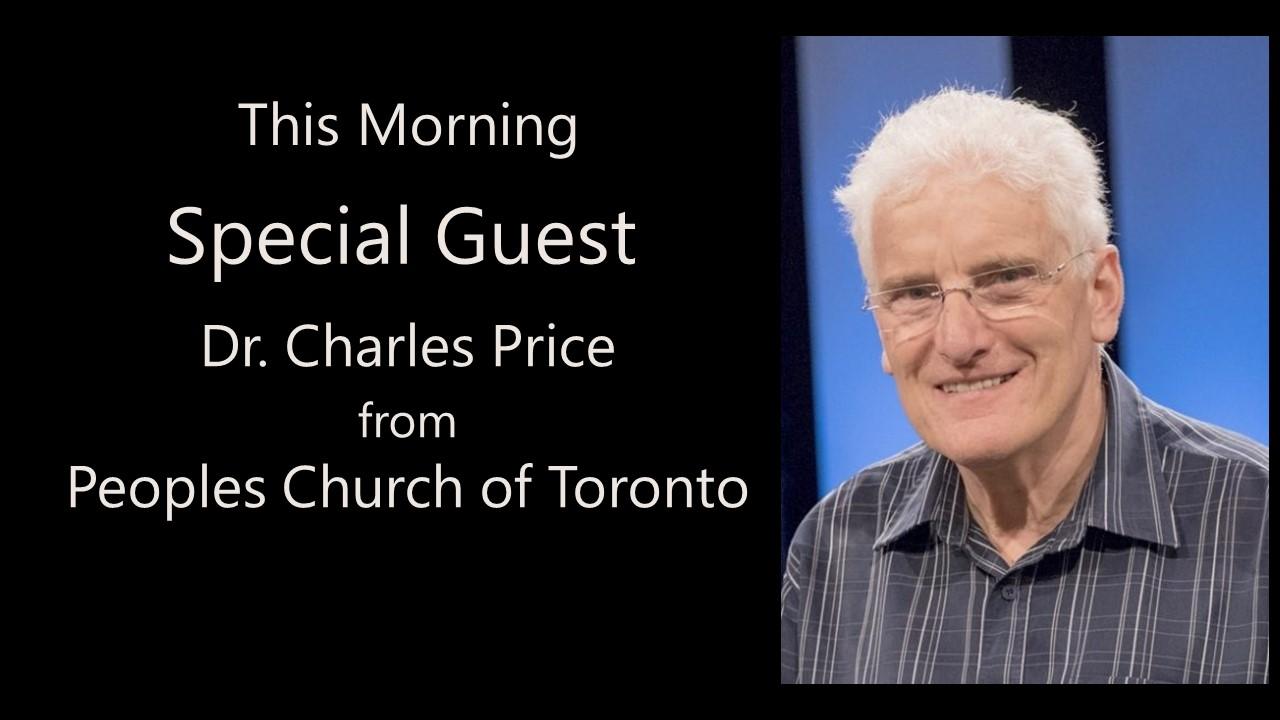 Special Speaker – Dr. Charles Price
