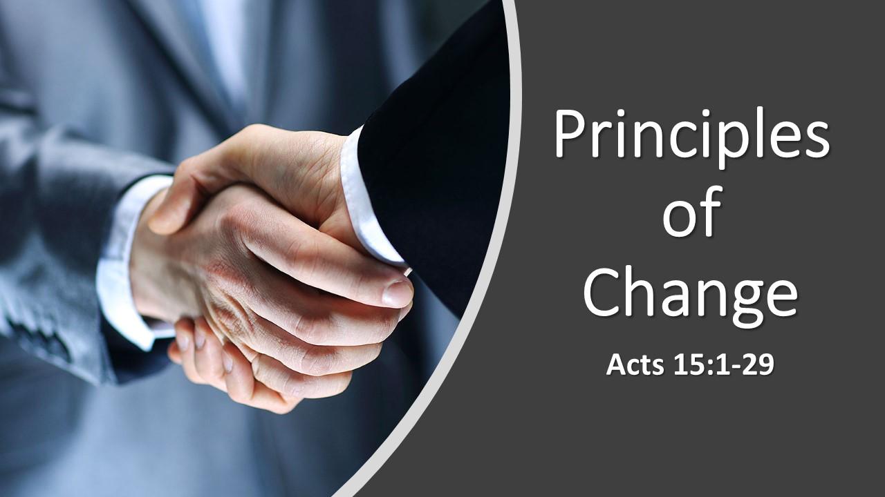 Principles Of Change